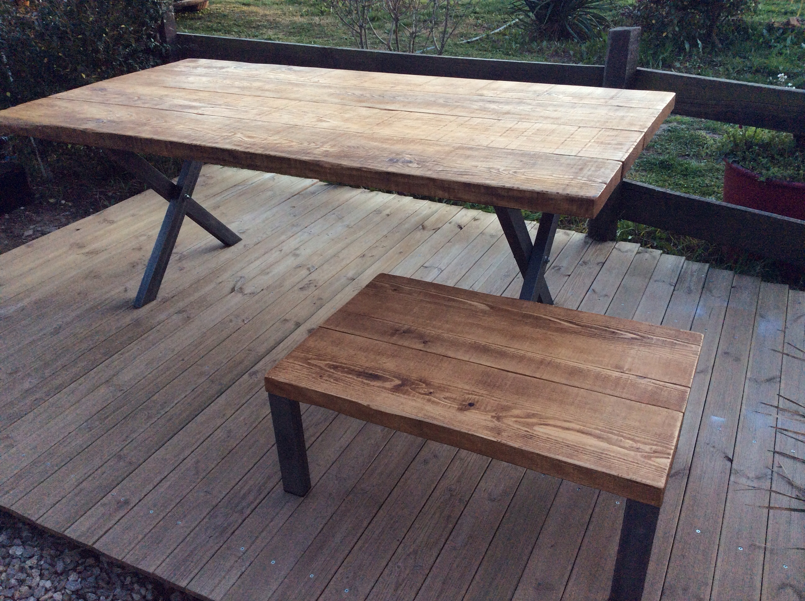 Designbois for Table en acier